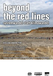 beyond the red lines plakat deutsch